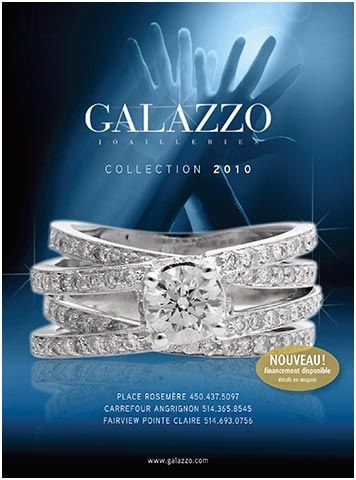 couverture catalogue Collection Joallerie Galazzo 2010